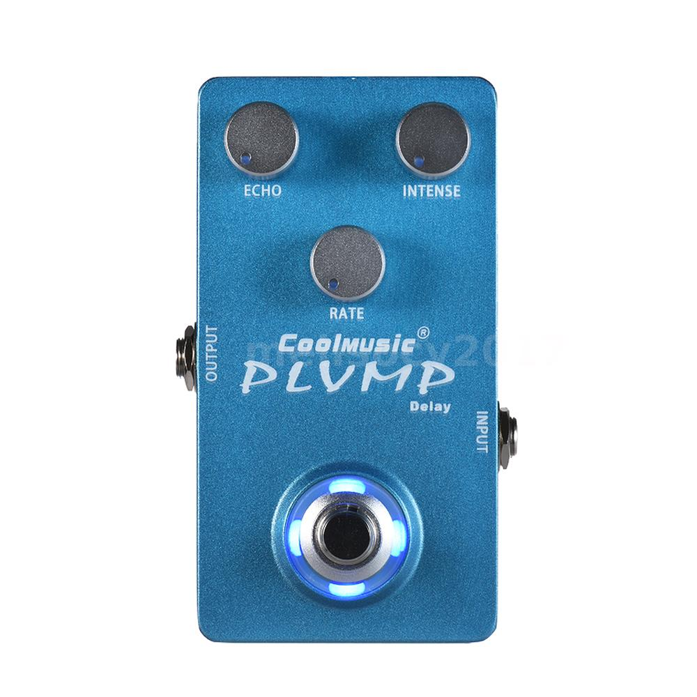Electric Guitar Analog Delay Effect Pedal True Bypass Full Metal Circuits Gt Boss Dd 2 Digital Schematic Diagram With Shell Durable And Sturdy Circuit Design Great Tone Low Noise Level