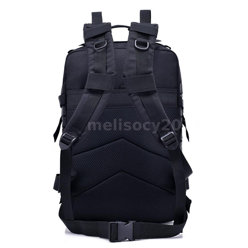 9fde3e0396ae Lixada 40L Pack Army Molle Bug Out Bag Travel Backpack For Camping ...